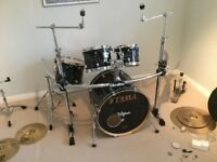 Tama Starclassic Performer w: Gibralatar rack, Tama + Pearl snare, some hardware