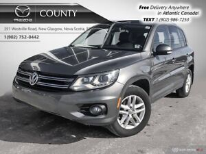 2014 Volkswagen Tiguan LEATHER! AWD! SUNROOF! HEATED SEATS! ALLO