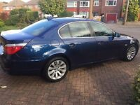 2007 BMW 525DSE 3.0L Saloon, 1 owner, FSH, Blue, Leather etc