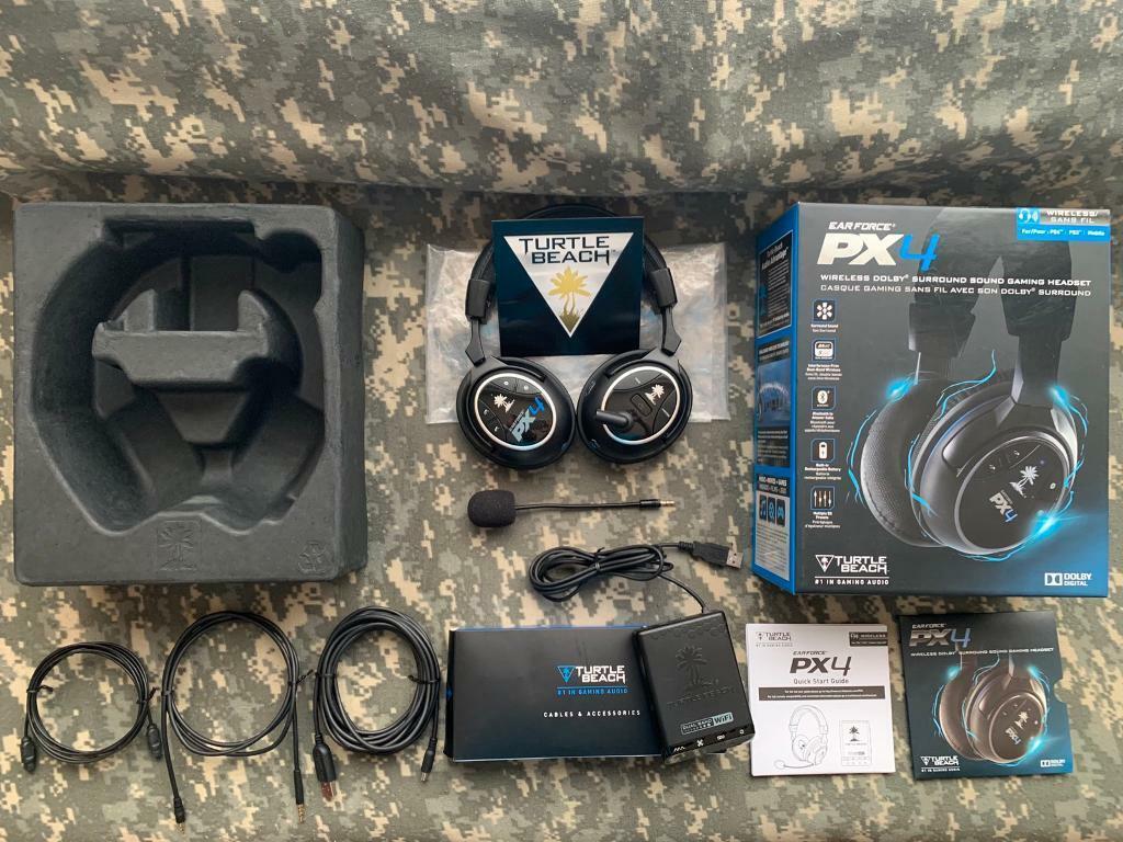 Wireless or Wired Headband Mic Headset