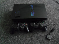 SONY PLAYSTATION 2 CONSOLE WITH 10 GAMES