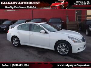 2012 Infiniti G37X Sport AWD/B.CAM/LEATHER/SUNROOF