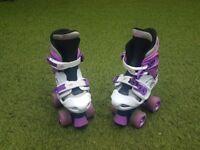 Osprey girls quad adjustable skates