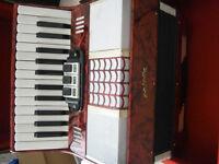 Galotta 48 Bass Piano Accordion