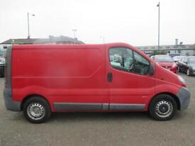 VAUXHALL VIVARO 2900 DTI SWB (red) 2005