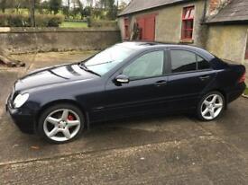 Mercedes C-class 2004 cheap car £1500