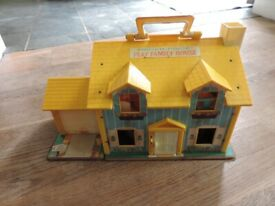 Vintage 1970's Fisher Price House