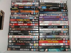 large quantity of dvds ,box sets