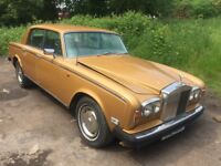Rolls Royce silver shadow II gold spares or repairs