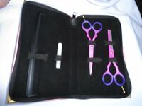 "Professional hair cutting thinning Scissors Shears barber Salon hairdresing5.5"" set brand new"