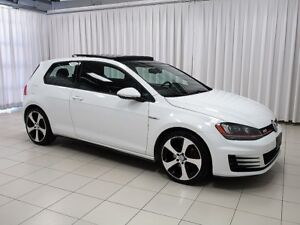2015 Volkswagen GTI Autobahn 6-Speed Turbo! Navigation, Sunroof,