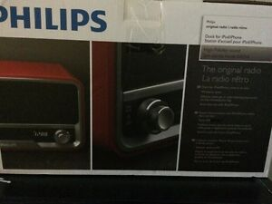 Philips Original radio iPhone/iPod dock