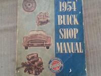 1954 Buick Shop Manual 519-771-8520 calls/ texts only