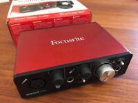 Focusrite Scarlett Solo audio interface 2nd generation