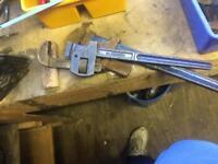 Monkey wrenches x 2