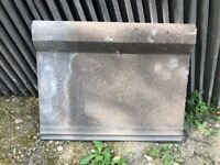 Russell Interlocking Concrete Reclaimed Roof Tiles (Approx. 250 in Weathered Grey)
