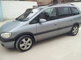 Vauxhall Zafira - excellent family car
