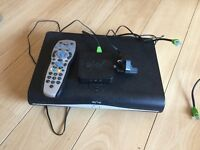 SKY+ HD box with wireless connector