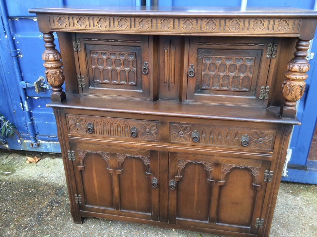 Antique old charm sideboard