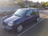 Clio 2005 1.5 Diesel £30 Tax 12 MNTHS MOT