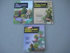 Three Brand New Gardening Books BY Dr D.G.Hessayon for £3.00 EACH