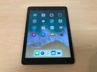 Apple iPad Air Space Grey 16GB WiFi 9.7 Inch Retina Tablet - Mint