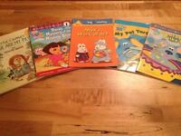 Kids Early Learning English Books. Excellent Condition