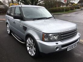2006 LAND ROVER RANGE ROVER SPORT 2.7 TD HSE SILVER PART EXCHANGE CONSIDERED