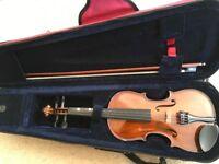 Concordia Violin Outfit 1/2 size