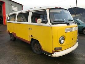 1969 EARLY BAY WINDOW VW CAMPER VAN UNFINISHED PROJECT