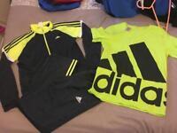Boys adidas and 1 puma tracksuits 13-14