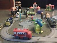 chuggington train set and accessories