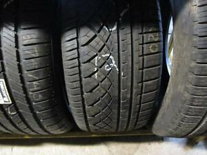 275/40R20 CONTINENTAL SINGLE ONLY USED TIRE        LOC H3