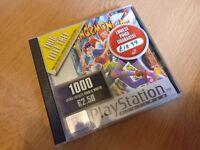 Sony Playstation 1 Games bundle x4