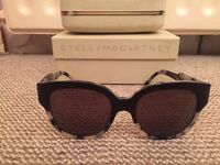 Beautiful two tone Stella McCartney sunglasses black/leopard immaculate condition