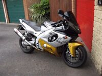 Yamaha YZF600R Thundercat registered in 2000, tidy machine and low mileage