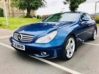 JANUARY 2007 MERCEDES CLS 320 CDI AUTO JUST BEEN FULLY SERVICED LONG MOT EXCELLENT CONDITION