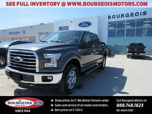 2016 Ford F-150 XLT 4X4 CREW FX4 OFF ROAD PKG NEW 301A