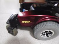invacare pronto m61 mobility power chair fully working and ready to go 350.00