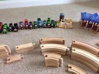 Brio train set and thomas trains
