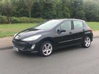 PEUGEOT 308 1.6 SPORT 2008 08 PLATE LOW MILEAGE 79,000 THREE OWNER 2 X KEY'S 5 DOOR P/X WELCOME