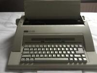 Portable electric typewriter - model AX-160 manufactured by Nakajima