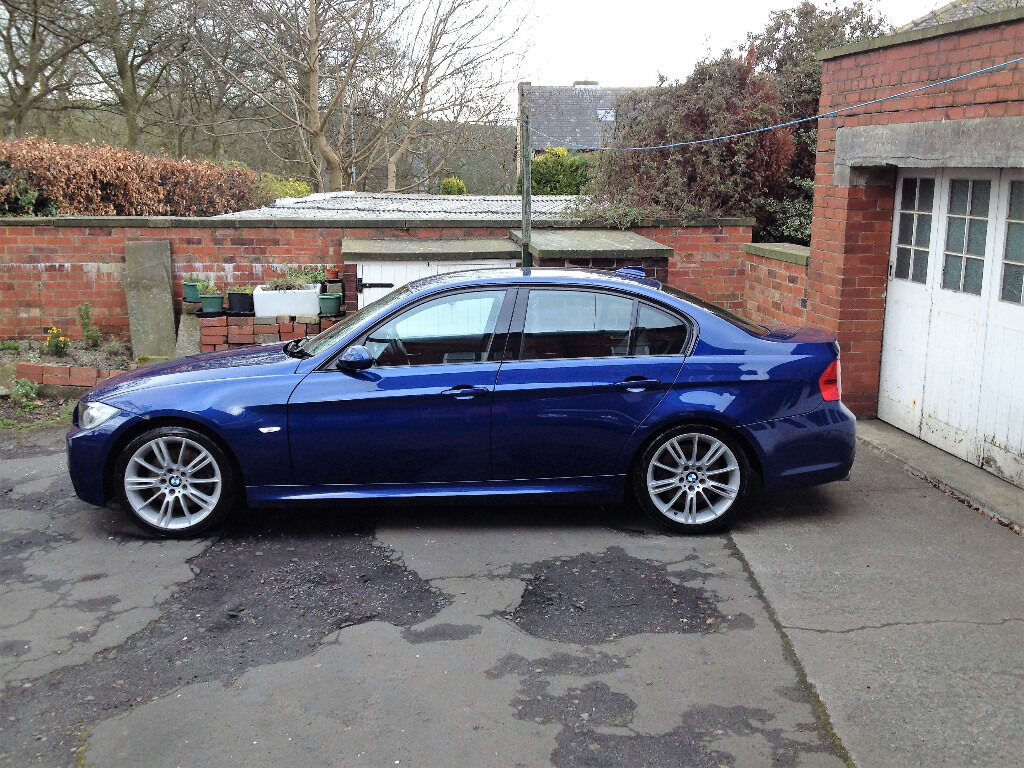 bmw e90 325d 325 d 3 0 l diesel m sport manual 2006 56 le mans blue like 330d in halifax. Black Bedroom Furniture Sets. Home Design Ideas