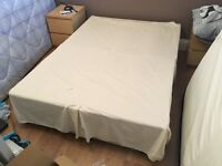 FREE double bed and mattress - collection only