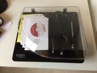 Ion turntable by Pure LP. Digitise your record collection! Used only once.