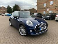 2016 MINI HATCH BACK COOPER ONE SPORT 6 SPEED AUTOMATIC, 21,626 mileage, New MOT