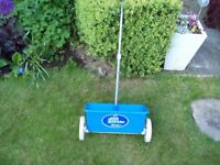"PBI 12"" LAWN SPREADER - For grass seed or feeding your lawn"