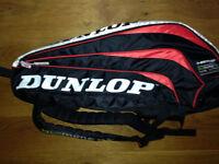 Dunlop Tennis or Badminton rackets Bag holdall backpack