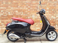 Vespa Primavera 50cc (15 REG), Only 429 miles on the clock