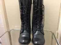 Brand new Hush Puppies real leather boots size 5 in very good condition only £35